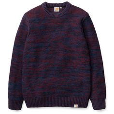 Carhartt WIP Accent Sweater http://shop.carhartt-wip.com:80/us/men/sale/knits/I012705/accent-sweater