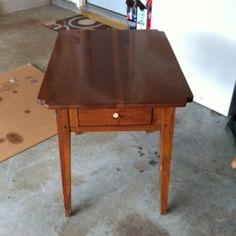 Easy DIY End Tables