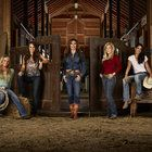 """Megan Etcheberry joins Darcy La Pier and other professional barrel racers in the new, six-episode A&E series, """"Rodeo Girls."""""""