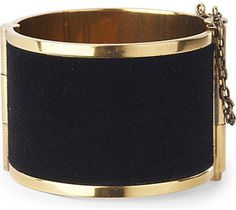 Something for the weekend?? MCQ ALEXANDER MCQUEEN Brass cuff. Definitely on the wishlist