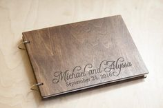 Hey, I found this really awesome Etsy listing at https://www.etsy.com/listing/230541923/wedding-guest-book-rustic-wedding-guest