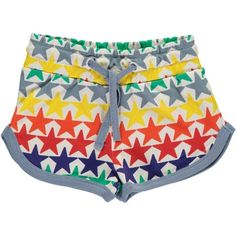 Get ready for summer with these fun and bright retro Boys&Girls star shorts available at Sidneyboo!  Free UK delivery always!