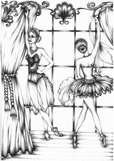 drawings by Johanna Hawke