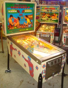155 Best Pinball Machines Old And New Images In 2013