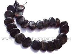 Semiprecious Stone, Black Tiger Eye Smooth Disc (Quality A) / 19 to 27 mm / 36 cm / TIGE-021 by beadsogemstone on Etsy #blackbeads #tigereyebeads #discbeads #blacktigereye #gemstonebeads #semipreciousstones #semipreciousbeads #briolettes #jewelrymaking #craftsupplies #beadsofgemstone #stones #beads