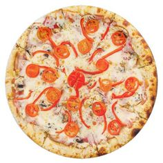 #cute - #Cheese and Pepper Pizza Party Paper Plates