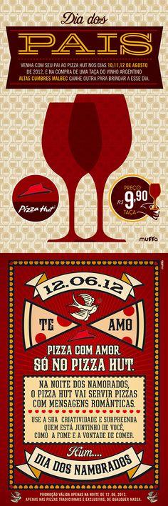 PIZZA HUT - (Design by Muffa Comunicação) muffa.com.br