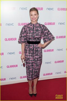 emily vancamp taylor schilling glamour women of the year awards 09 Emily VanCamp holds onto her International TV Actress award while attending the 2014 Glamour Women of the Year Awards After Party with her boyfriend Josh Bowman…