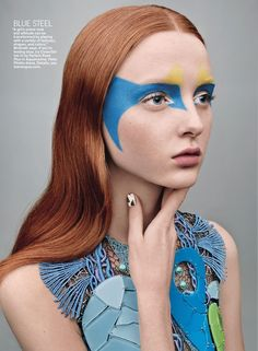 face paint. #MadisonStubbington
