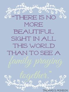 "You've heard the saying, ""A family that prays together stays together."" Come read Camille's ideas to help you have family prayer together. #CelebrateFamily"