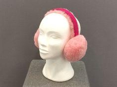 SheepSkin Earmuff Pink