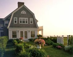 Classic New England Coastal Living.