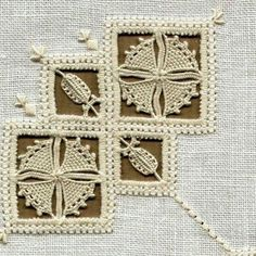 Reticello Embroidery from 'Fio Embroidery Patterns Free, Embroidery Needles, Hardanger Embroidery, Hand Embroidery, Lace Weave, Drawn Thread, Point Lace, Needle Lace, Lace Making