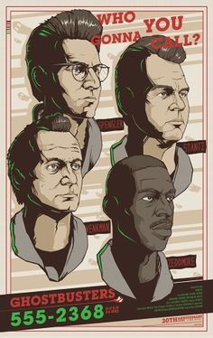 Ghostbusters 30th Anniversary Poster by Berkay Daglar, via Behance