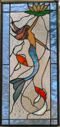 Mermaid - this would be cool in the bathroom window!