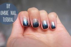 DIY Nail Art : DIY ombre nails tutorial