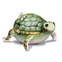 Look at it's cute lil smile! Little Charmer Limoges Style Collectible Turtle Music Box $39.99 (http://www.enchantedgc.com/little-charmer-limoges-style-collectible-turtle-music-box-turtle-lover-gift-p-9531.html)