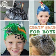 Crazy Hair Ideas for Boys