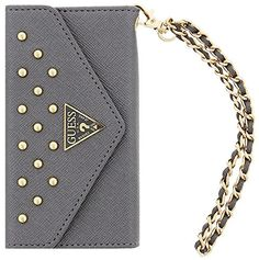 Guess Studded Collection Clutch Cover Case for iPhone 6 - Silver No description (Barcode EAN = 3700740341865). http://www.comparestoreprices.co.uk/december-2016-5/guess-studded-collection-clutch-cover-case-for-iphone-6--silver.asp