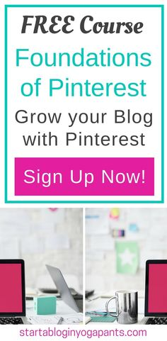 Struggling to figure out Pinterest and how to get your blog noticed? This FREE course will help you set up a strong foundation so you can get the traffic and business you want on your blog. Sign up for free today!