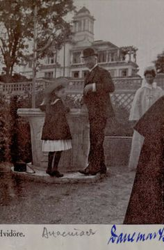 """GD Anastasia visits """"Hvidore"""" the family home in Denmark of Empress Marie."""