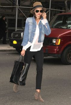 boho boots Miranda Kerr