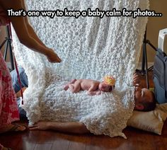 The Best Way To Keep a Baby Calm For Photos