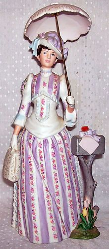 1988 Avon 'Mrs Albee Award', I have this one and also a large size replica doll I won in a contest...