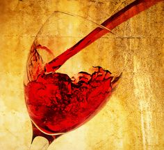 Is it time for a wine? Pouring Wine, Red Wine, Alcoholic Drinks, Abstract, Glass, Artwork, Summary, Work Of Art, Drinkware