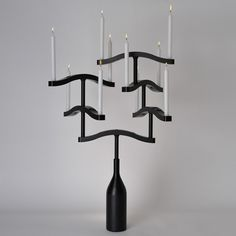 Dependable Antico Candeliere Candelabro In Ferro O Ghisa Silverplate