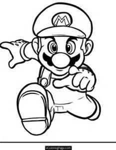coloring sheets mario | 102_Super_Mario_Coloring_Blooper_at ...