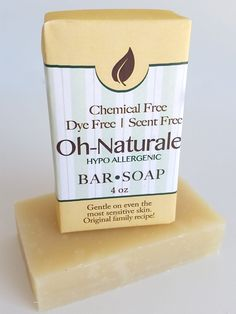 Oh-Naturale' Soap ~ All Natural Handmade Hypo Allergenic 3.5oz
