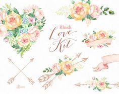Cet ensemble de main peint aquarelle arrangements floraux avec des airbaloons, des bannières, des flèches, des enveloppes. Graphisme parfait pour les invitations de mariage, cartes de voeux, photos, affiches, citations et plus. ----------------------------------------------------------------- TELECHARGEMENT IMMEDIAT Une fois que le paiement est désactivée, vous pouvez télécharger vos fichiers directement depuis votre compte Etsy…