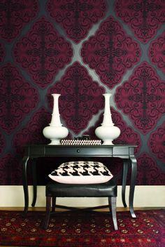 MOOD LIVING | WALLQUEST-PRINTERS GUILD PRODUCTIONS | Crown Wallpaper + Fabrics | Toronto, Vancouver & Montreal