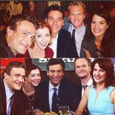 First and last group photo.   #himym
