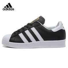 low priced a6e95 15730 ADIDAS Clover Superstar Men and Women Walking Shoes, Black,Sport  Wear-resistant Lightweight