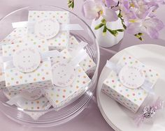 cute as a button baby shower favor boxes $13.26 for set of 24