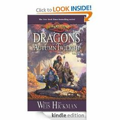Fantasy at it's finest!  Margaret Weis and Tracy Hickman write their chronicles in groups of three books, each group completing one whole story of the epic saga that is Dragonlance