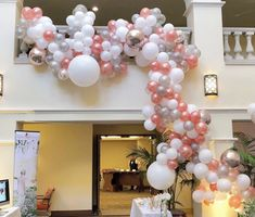 """83 Likes, 10 Comments - Party Shop Avenue (@partyshopavenue) on Instagram: """"So amazed by our balloon installation at the @bridalpremiere bridal show! We had such an amazing…"""""""