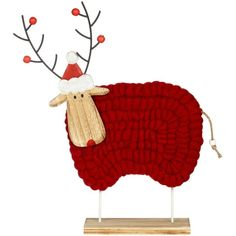 John Lewis Chamonix Woolly Christmas Sheep Decoration ❤ liked on Polyvore featuring home, home decor, holiday decorations, john lewis, christmas home decor, christmas holiday decor and christmas holiday decorations