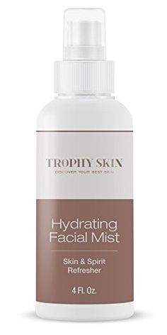 Facial Hydrating Mist by Trophy Skin Prepares Skin to Increase the Absorption of Serums and Moisturizers >>> Learn more by visiting the image link.