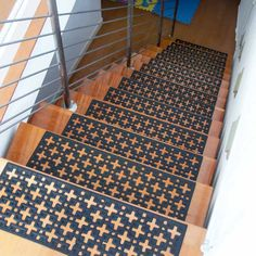 Add Safety To Your Staircase Today! Stars Rubber Stair Treads Offer You  Non Slip Protection Even When Wet And Work For Indoor Or Outdoor Use.