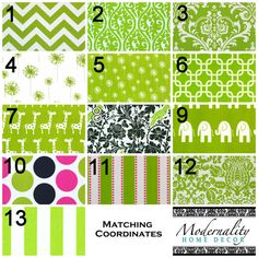 Contemporary Curtains- Pair of Drapery Panels- Premier Prints Chartreuse Green Curtains- 50x84 inch Drapes- You Choose Fabric