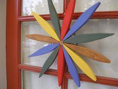 Folk+Art+Wooden+Wreath++Outdoor+Country+Wreath++Garden+Art