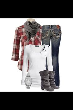 Country girl outfit but with better cowboy boots