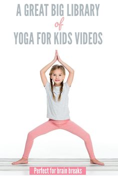 Kids Health A great big collection of yoga for kids videos for kids of all ages. Great for use at home or in the classroom. - A great big collection of yoga for kids videos for kids of all ages. Great for use at home or in the classroom. Yin Yoga, Yoga Positionen, Vinyasa Yoga, Kids Yoga Poses, Yoga For Kids, Exercise For Kids, Yoga Routine, Workout Routines, Yoga Inspiration
