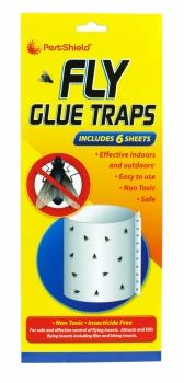 PESTSHIELD FLY GLUE TRAPS 6 PACK