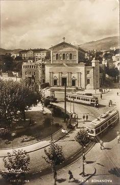 Barcelona, Plaça de la Bonanova finals dels 40