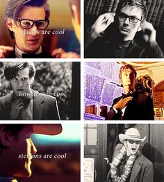 Glasses, Bow ties and Stetsons are cool.