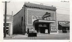 Marlo Theater with Nu Crisp Popcorn on the right, in 1937. Nu Crisp's  original location was at 1027 East 2100 South. Courtesy  |  Salt Lake County Archives